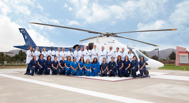 Trauma Care Group Picture, Helipad