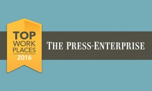 2016 Top Workplaces Award Winner